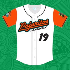 Norfolk Tides Youth Jersey