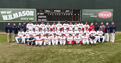 Portland Sea Dogs 2014 team photo