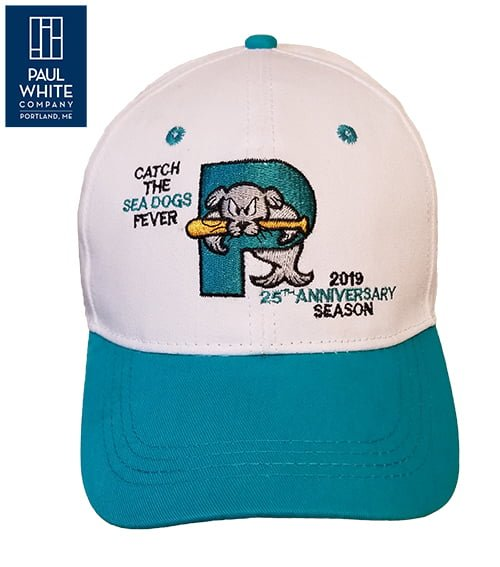 Portland Sea Dogs 25th anniversary hat