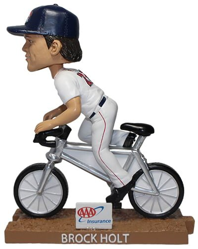 Portland Sea Dogs Brock Holt bobblehead