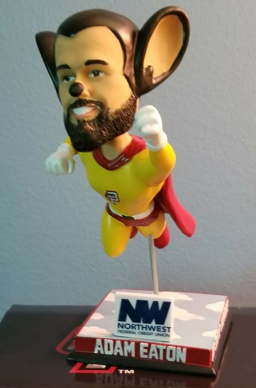Potomac Nationals Adam Eaton Mighty Mouse Bobblehead