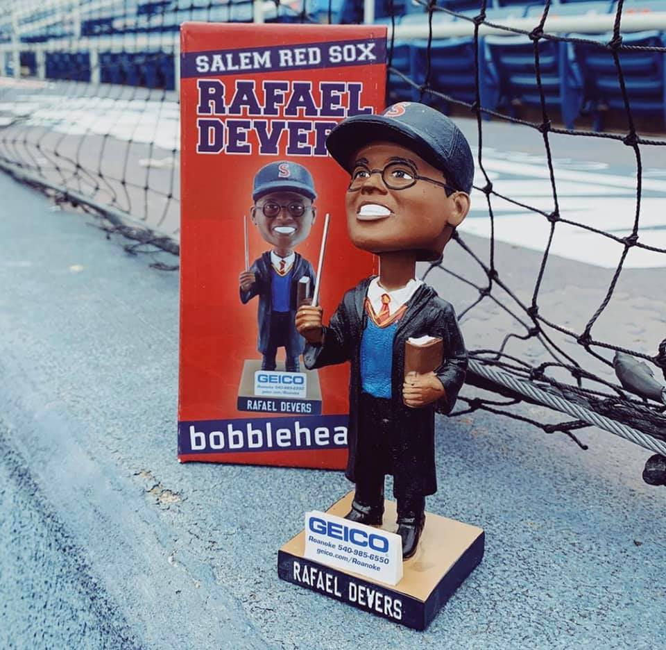 Salem Red Sox Devers Bobblehead