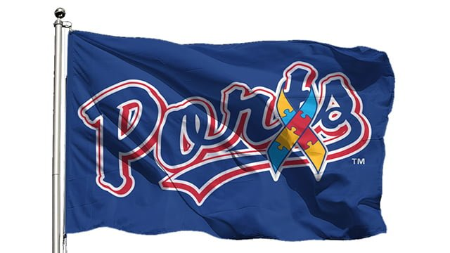 Stockton Ports Ports Flag