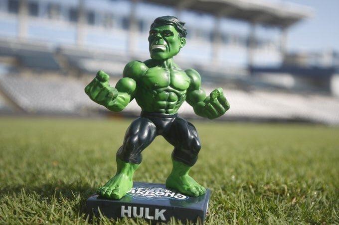Tampa Bay Tarpons Hulk Bobblehead