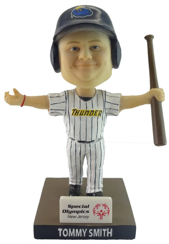 Trenton Thunder Bat Boy Tommy Bobblehead
