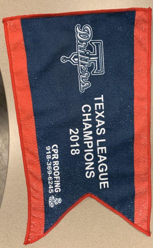 2018 Texas League Champions Rally Towel