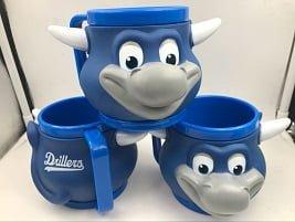 Tulsa Drillers Hornsby Mug