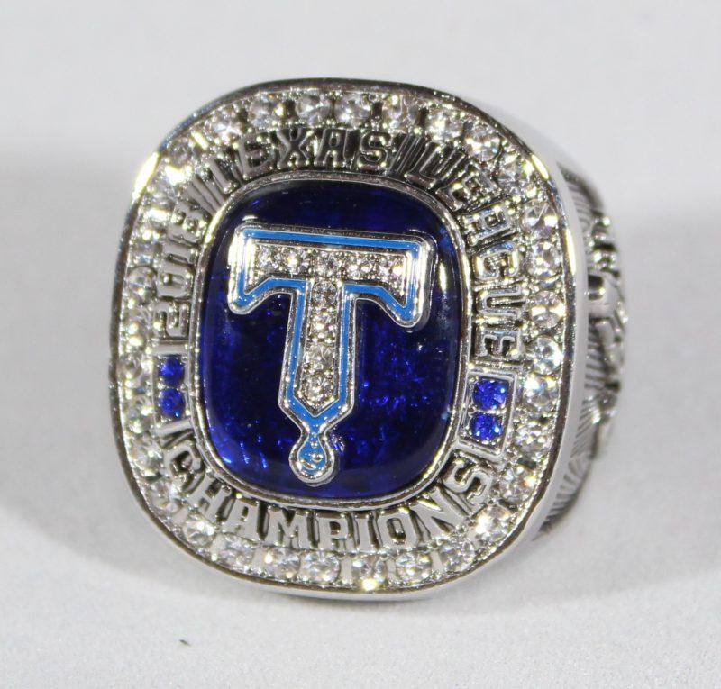 Tulsa Drillers Replica Championship Ring