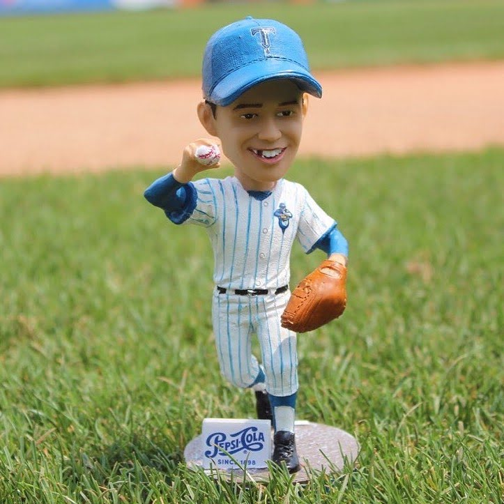 Tulsa Drillers Rookie of The Year Henry Rowengarder Bobblehead