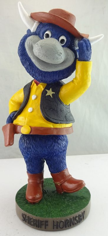 Tulsa Drillers Sheriff Hornsby Bobblehead