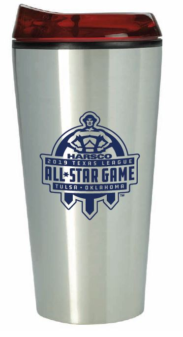 Tulsa Drillers Stainless Steel All Star Game Tumbler