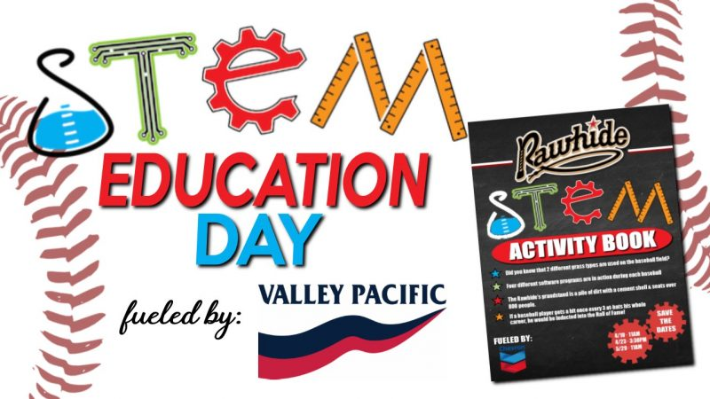 Visalia Rawhide S.T.E.M Education Day Book