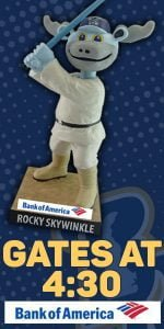 Wilmington Blue Rocks Rocky Skywinkle Bobble Head