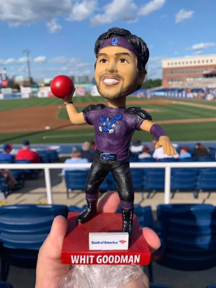 Wilmington Blue Rocks Witt Goodman Dodgeball Bobblehead