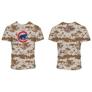 new concept 45251 77a64 May 26, 2019 Chicago Cubs - Camo Athletic Shirt - Stadium ...
