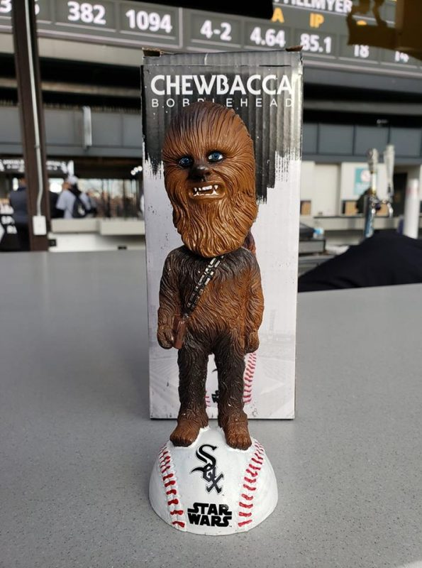 Chicago White Sox Chewbacca bobblehead