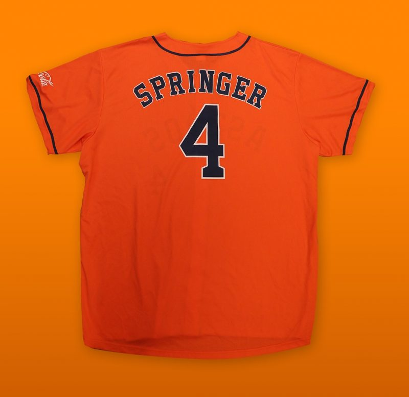 George Springer Replica Orange Jersey