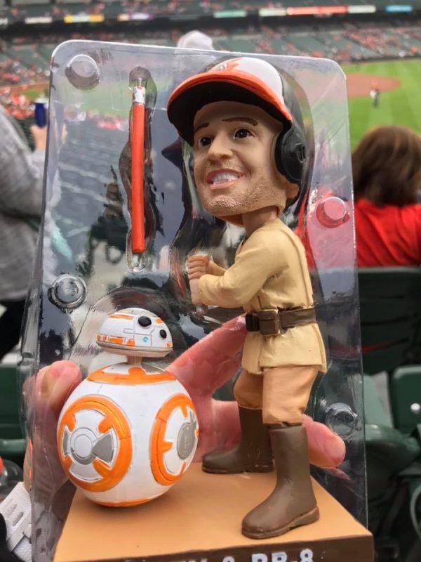 Orioles Star Wars Bobblehead