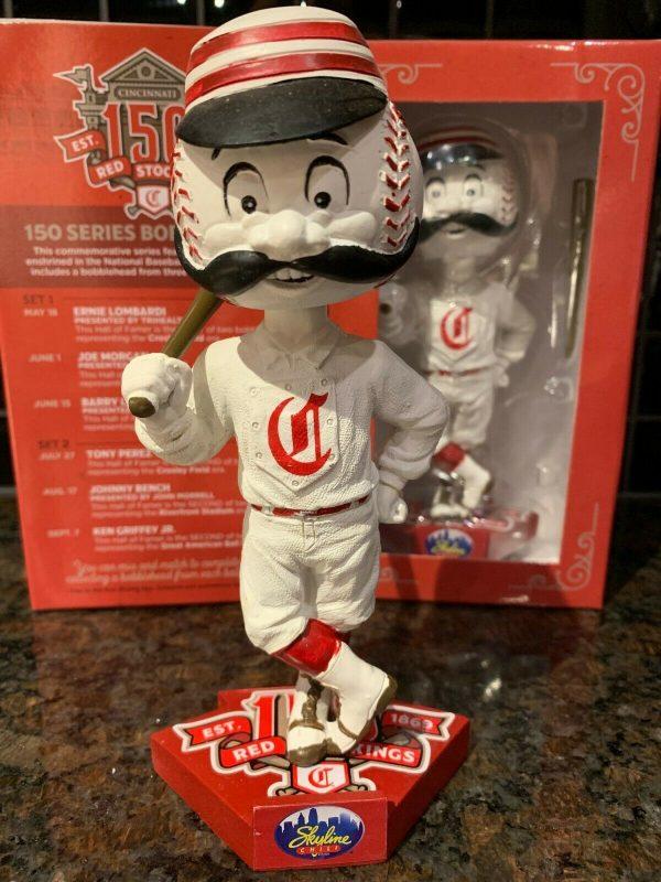 Cincinnati Reds – Mr. Redlegs Bobblehead