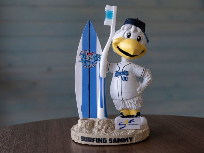 Corpus Christi Hooks Surfing Sammy Toothbrush holder