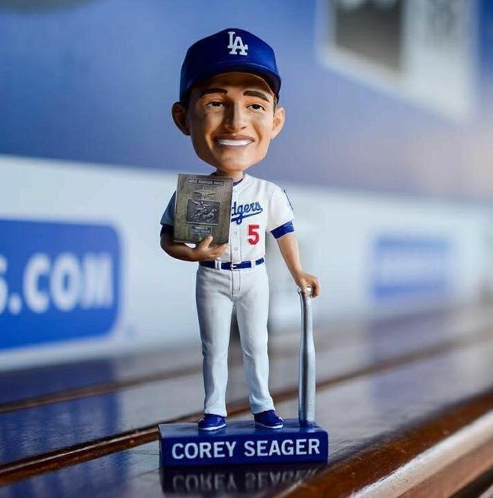 Corey Seager Bobblehead
