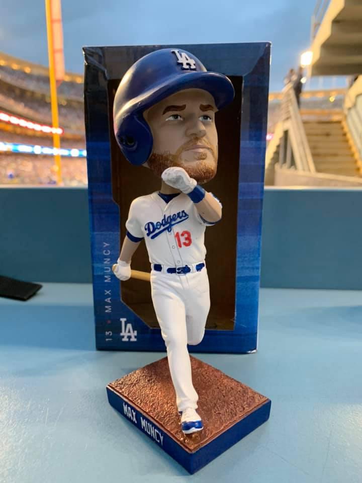 Los Angeles Dodgers - Max Muncy Bobblehead