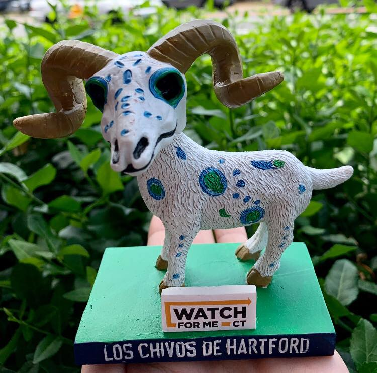 Los Chivos de Hartford Goat Bobblehead