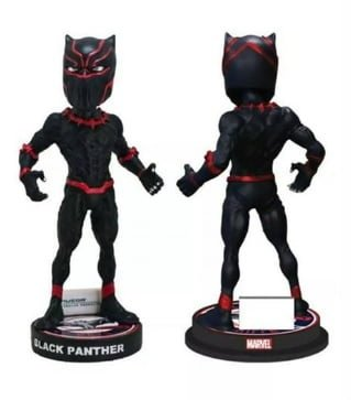 Louisville Bats Black Panther Bobblehead