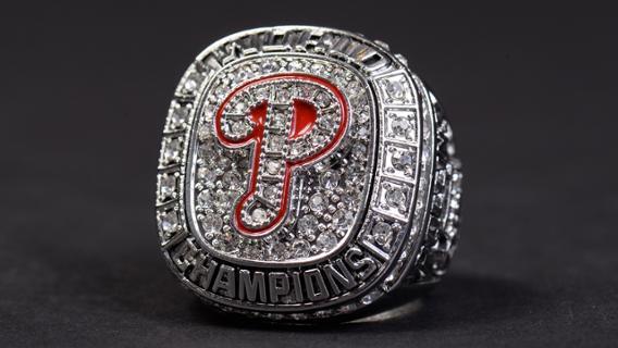 Philadelphia Phillies – 2008 World Champions Replica Ring