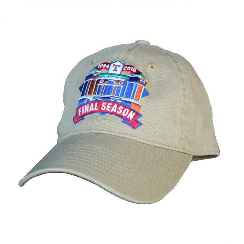 Carter BloodCare Final Season Logo Cap