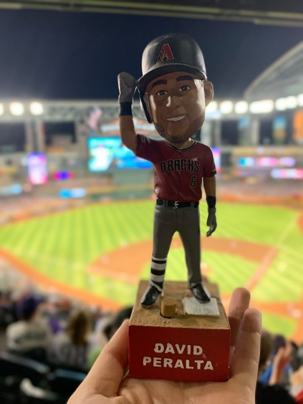 Arizona Diamondbacks – David Peralta FreightTrain Bobblehead