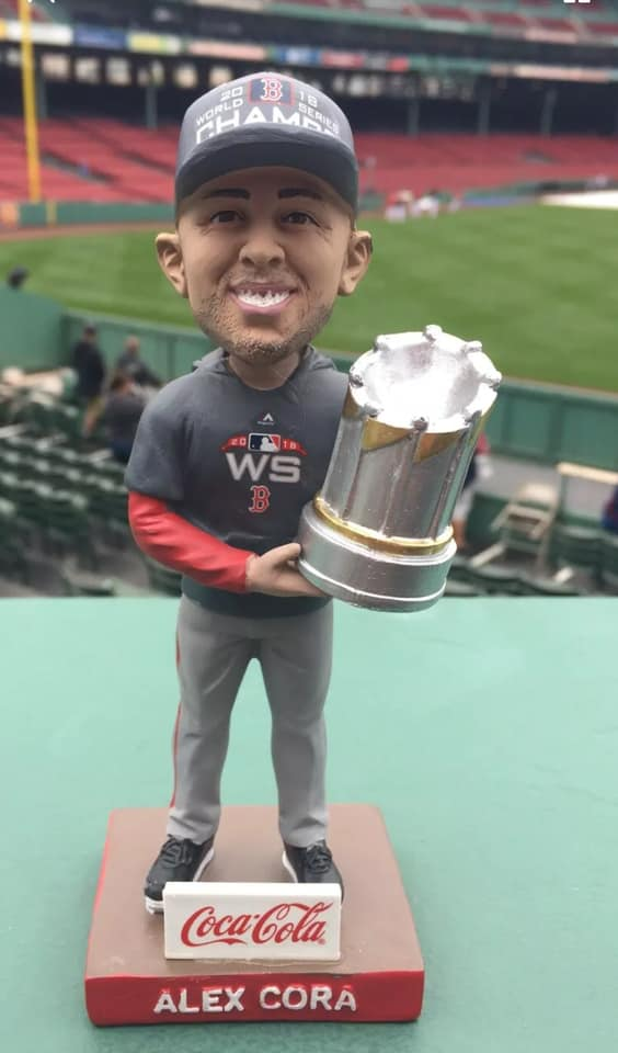 Boston Red Sox - Alex Cora World Series Bobblehead
