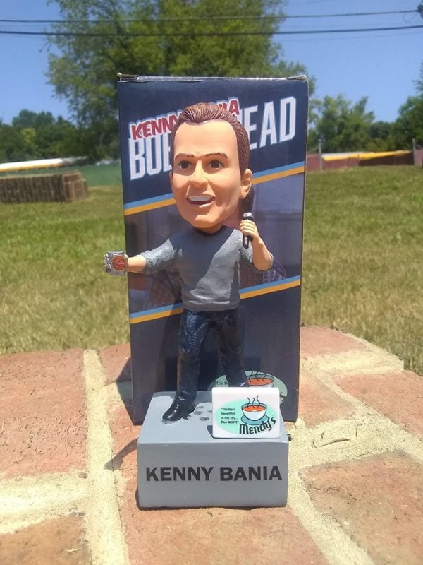 "Brookklyn Cyclones - ""That's Gold"" Kenny Bania Talking Bobblehea"