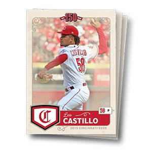 Cincinnati Reds – Kids Team Baseball Card Set
