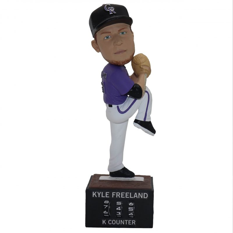 Colorado Rockies - Kyle Freeland Bobblehead