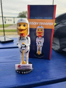 Green Bay Booyah (Northwoods League) - Rocky Trooper Bobblehead