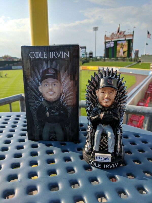 Iron Pigs Cole Irvin Game of Thrones Bobblehead