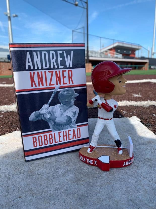 Johnson City Cardinals Andrew Knizner Bobblehead