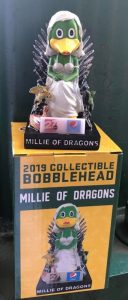 Madison Mallards - Millie of Dragons Bobblehead