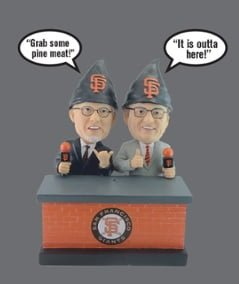 San Francisco Giants – Mike Krukow OR Duane Kuiper Gnome