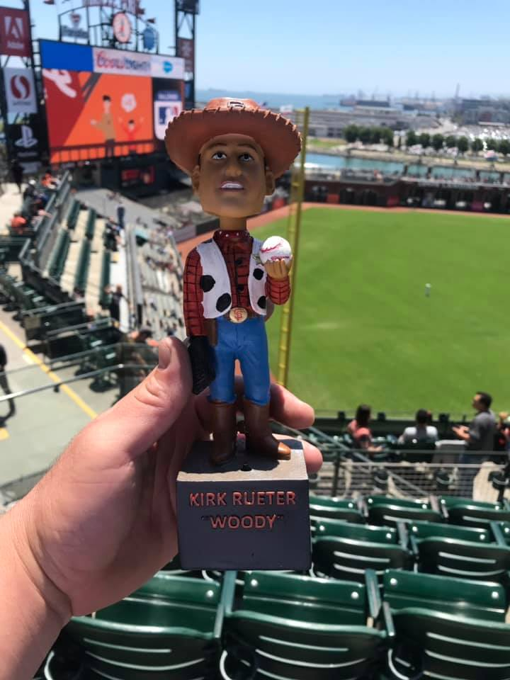 San Francisco Giants - Kirk Rueter Woody Bobblehead