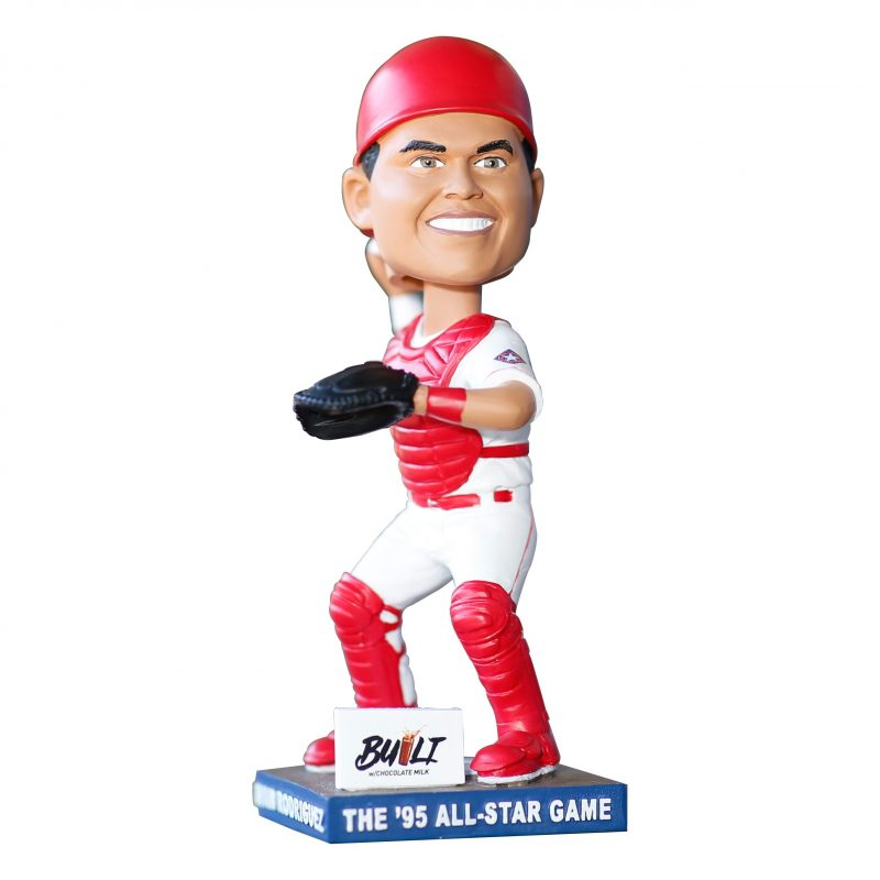 The 95 All-Star Game Ivan Rodriguez Bobblehead