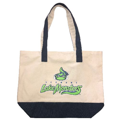 Lake Monsters Canvas Tote Bag