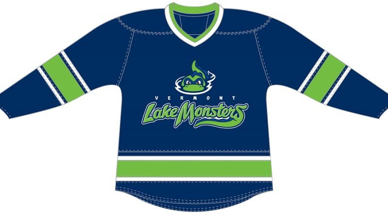 Lake Monsters Hockey Jersey