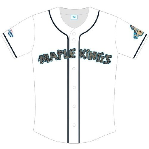 Vermont Lake Monsters Maple Kings Jersey