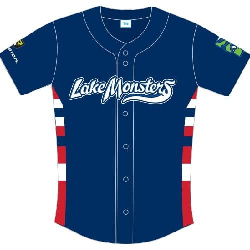 Lake Monsters Patriotic Jersey