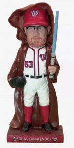 Washington Nationals – Obi Sean Kenobi Bobblehead