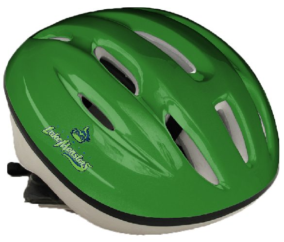 Lake Monsters Youth Bike Helmet