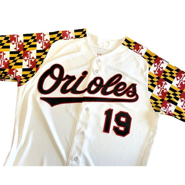 Baltimore Orioles – Maryland Flag Replica Jersey