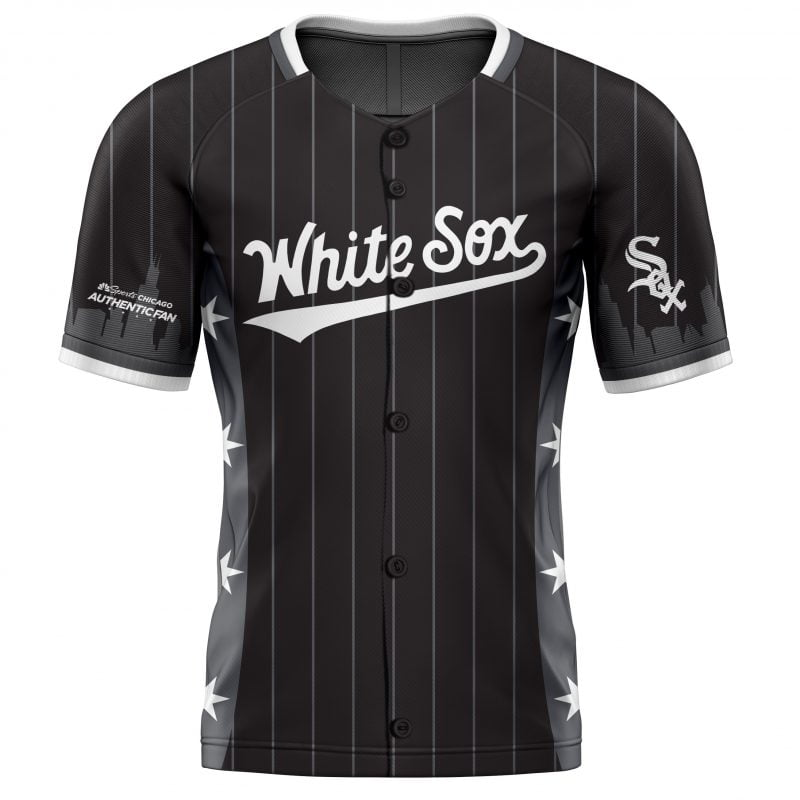 Chicago-themed White Sox Jersey